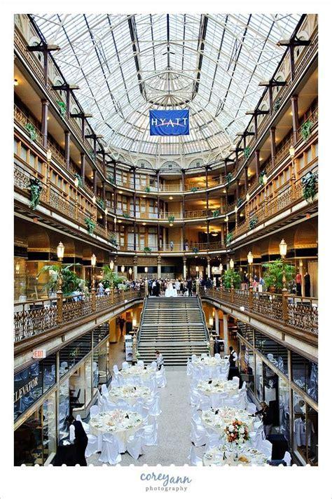 Wedding at the Hyatt Regency at The Arcade in Cleveland