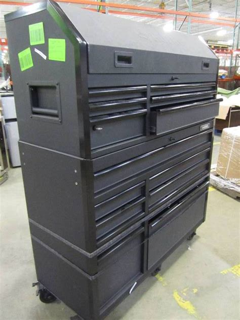 Husky 52 In W 20 In D 15 Drawer Tool Chest And Cabinet by Husky 52 In W 20 In D 15 Drawer Tool Chest And Cabinet