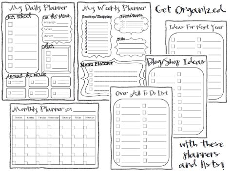 student to do list template classroom freebies planners and to do lists