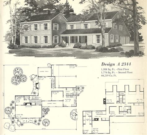 old house blueprints vintage house plan vintage house plans 1970s farmhouse