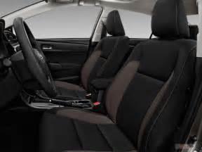 Seat Covers Toyota Corolla 2017 2017 Toyota Corolla Interior U S News World Report