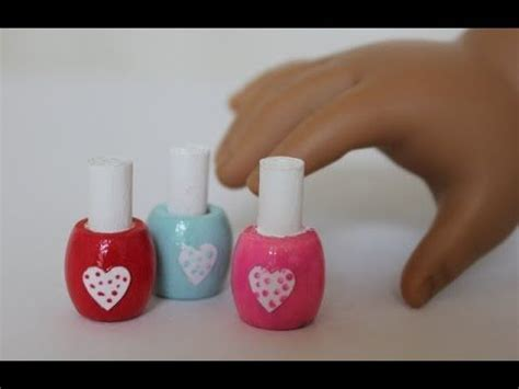 doll nail american doll nail tutorial tutorial tuesday