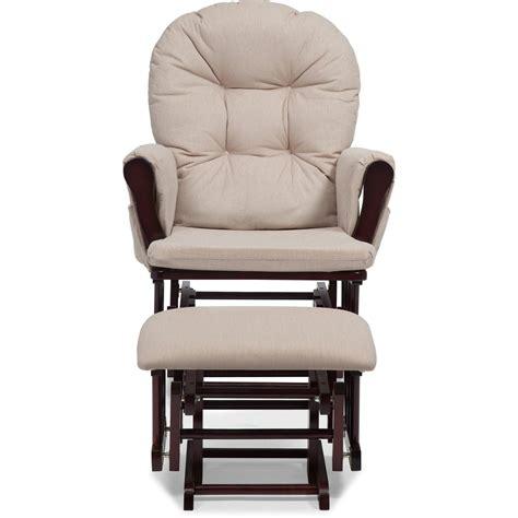 nursery glider ottoman baby set rocking chair rocking wood furniture cherry  ebay