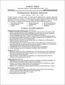 Powerful Resume Examples Executive Resume Sample Powerful Executive Resumes