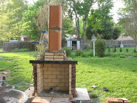 Home Decor Jamesdhogan My Outdoor Fireplace Project Part 2