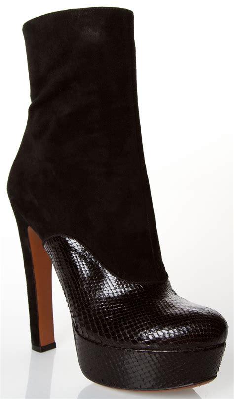 alaia boots alaia boots