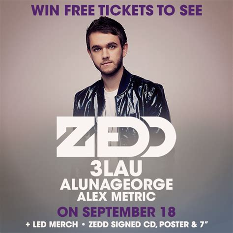 zedd la tickets win tickets to zedd in la signed prize package led