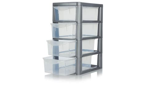 Four Drawer Storage Unit Asda 4 Drawer Storage Unit Storage George At Asda