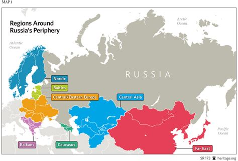 russia map size u s comprehensive strategy toward russia the heritage