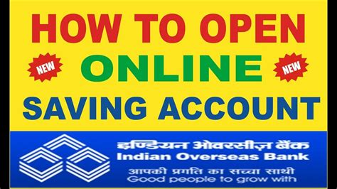 open overseas bank account how to open new account in indian overseas bank howsto co