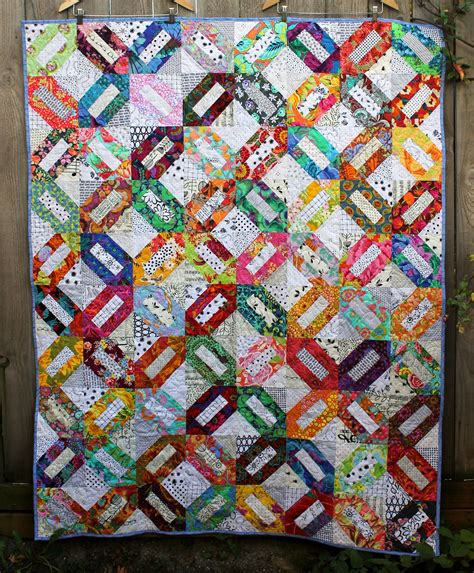 That Quilts by Project Linus Scrap Quilt Wombat Quilts