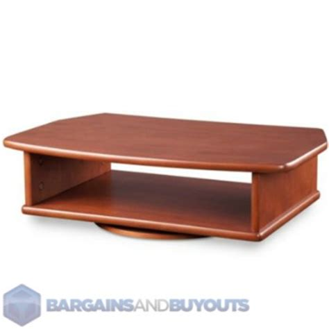 dvd player table stand tv dvd tabletop turntable stand dark cherry 350417 ebay