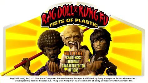rag doll kung fu rag doll kung fu fists of plastic playstation 3 gameplay