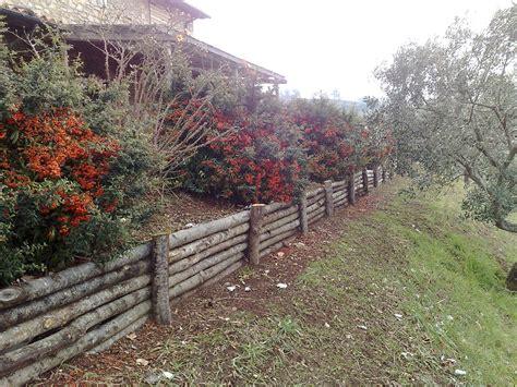 palizzate in legno per giardino strutture in legno vivaio e stefanelli todi