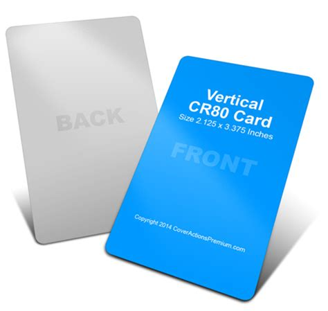 Reward Cards Template Mock Up by Vertical Cr80 Credit Card Mock Up Cover Actions Premium