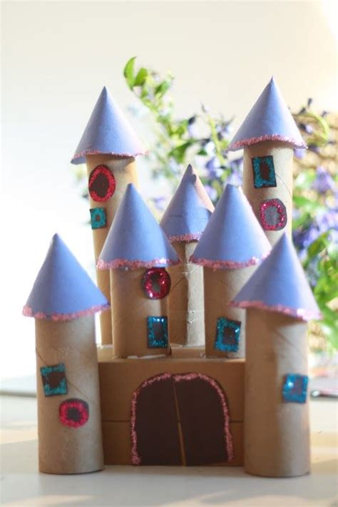 Toilet Paper Roll Castle Craft - best 25 cardboard crafts ideas on