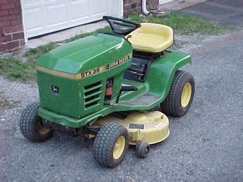 Antique Tractors John Deere Stx38 Picture