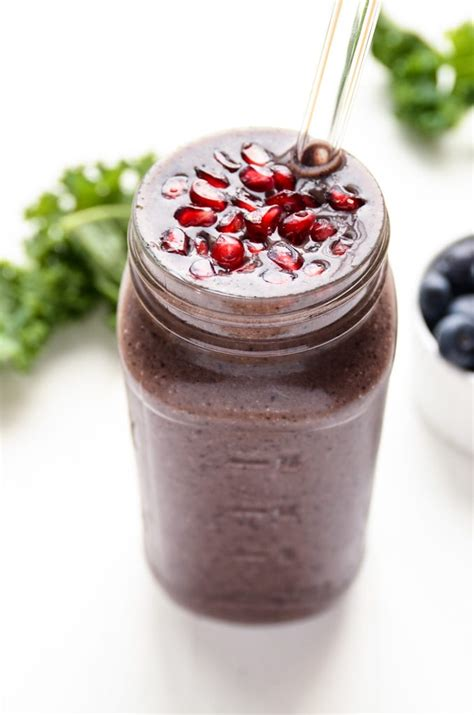 Recipe For Purple Power Detox Smoothie by Purple Power Detox Smoothie Blissful Basil Healthy