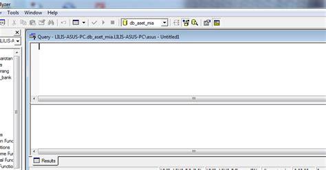 cara membuat query di sql server 2000 lilis suryani cara membuat database menggunakan sql server