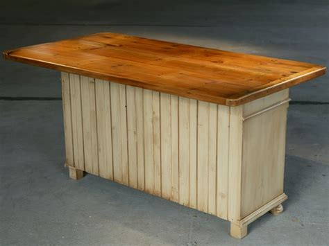 Wooden Kitchen Island Reclaimed Wood Kitchen Island Traditional Kitchen Islands And Kitchen Carts By