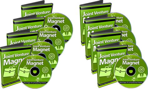 Joint Venture Giveaways - joint venture magnet video series super resell largest resell rights plr master