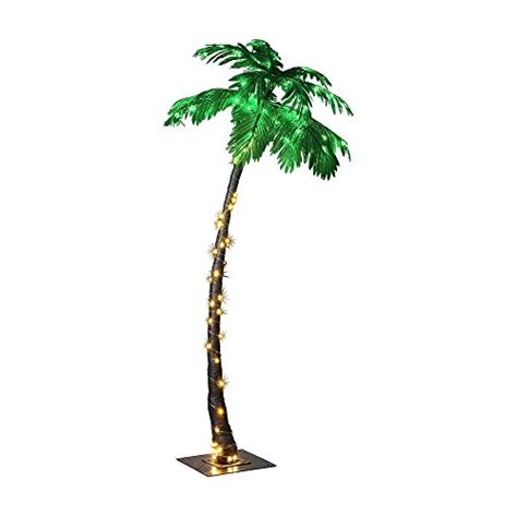 lighted palm tree lightshare lighted palm tree large import it all