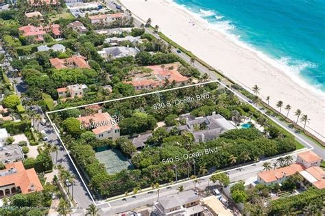 New Orleans Style Home Plans by Palm Beach Estate With Jimmy Buffet Link Sells For 42 9m
