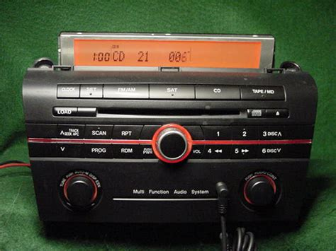 mazda 3 2008 aux mazda mazda3 cd radio with aux input ma002 factory