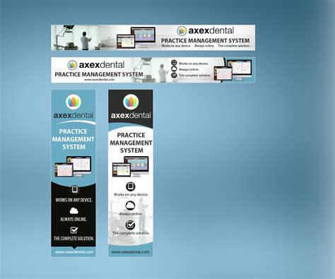 banner layout software elegant playful software banner ad design for unident