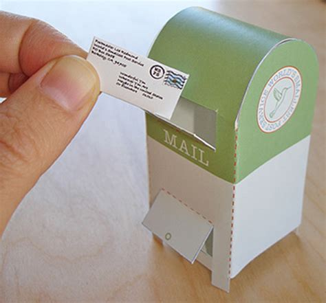 How To Make Post Box With Chart Paper - world s smallest postal service 2010 design sponge