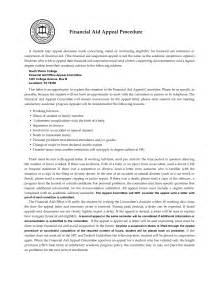 Financial Aid Appeal Letter Suspension How To Write An Appeal Letter For Sle