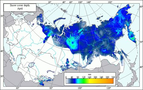 snow map snow cover map my