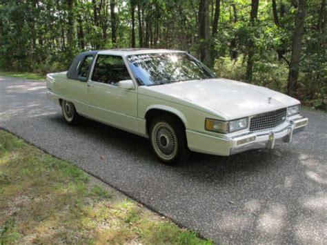 1989 cadillac fleetwood buy used 1989 cadillac fleetwood base coupe 2 door 4 5l in