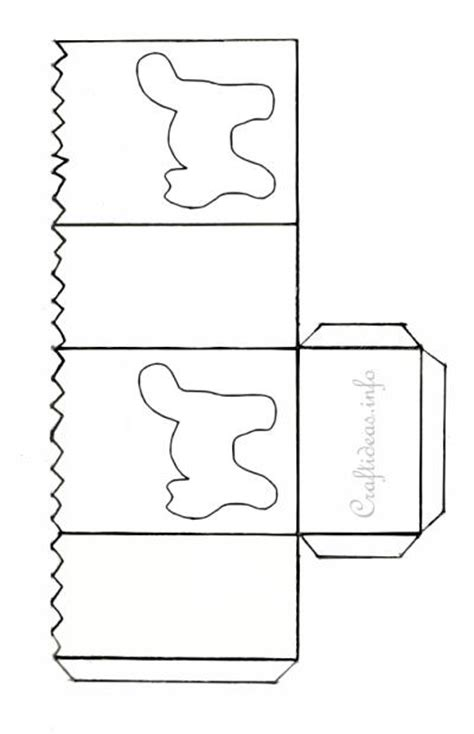 3d lantern template craft pattern black cat paper lantern