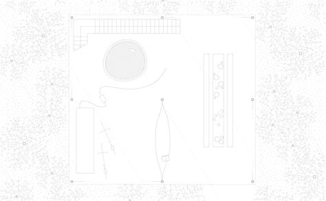 Concrete Floor Plans go hasegawa pilotis in a forest