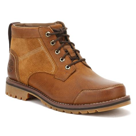 Timberland Boot Ring Brown Ujung Besi lyst timberland mens oakwood brown larchmont chukka boots in brown for