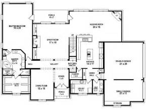 4 Bedroom 4 Bath House Plans 654256 4 Bedroom 3 5 Bath House Plan House Plans Floor Plans Home Plans Plan It At
