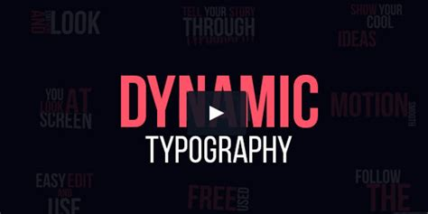 dynamic typography tutorial after effects 17 typrography type video tutorials free templates