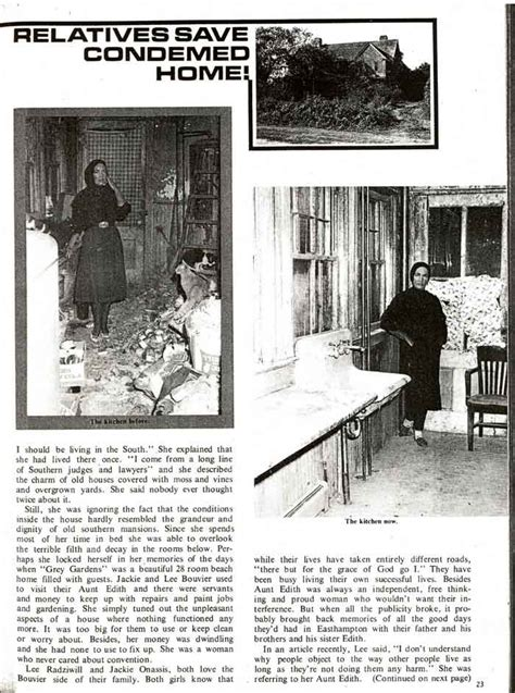 newspaper article when jackie o quot rescued quot the edie s the beales of grey gardens pinterest
