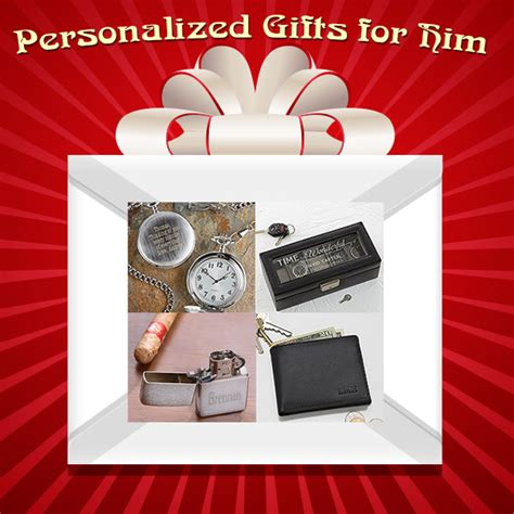 personalised valentines gifts for him s day gifts for him