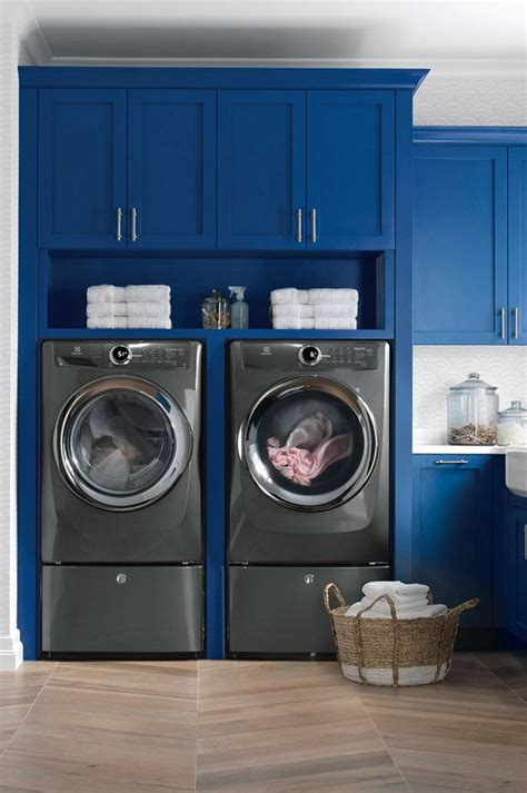 blue laundry room 244 best images about laundry rooms on