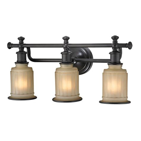 oil rubbed bronze bathroom lighting fixtures titan lighting kildare 3 light oil rubbed bronze bath