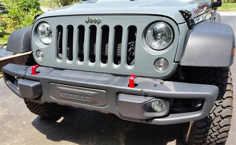 jeep rubicon winch bumper maximus 3 winch mount installation bumper removal