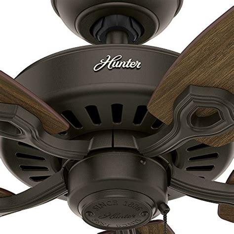 hunter fan company service department hunter fan company 53242 builder elite energy star 52 inch