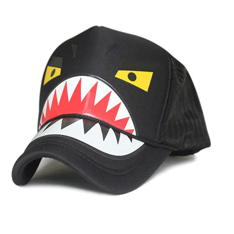 mesh hat cool shark baseball cap seasons general