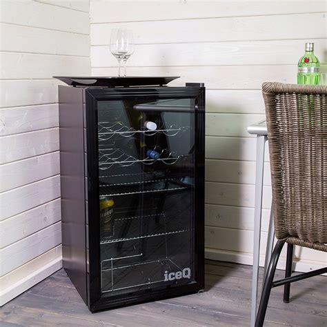 counter fridge glass door iceq 93 litre counter glass door display fridge