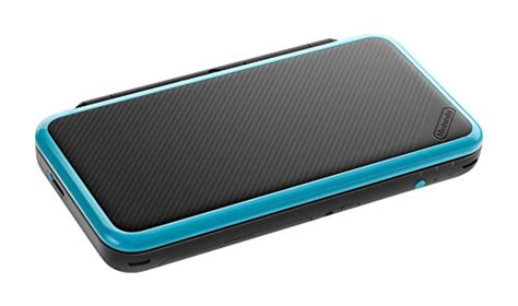 Nintendo New 2ds Xl Console Black Turquoise Bonus 1 accessoryuncle co uk 187 nintendo handheld console new