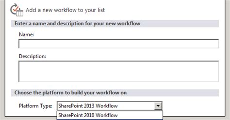 the option for the sharepoint 2013 workflow platform sharepoint the option for the sharepoint 2013 workflow
