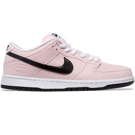 Nike Sb 6 0 Dunk Low nike sb pink box dunk low elite shoes prism pink black white