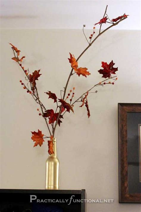 fall leaf decoration 28 diy fall inspired home decorations with leaves